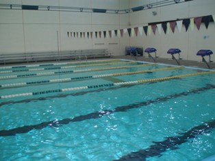 Indoor Pool Lap Lanes