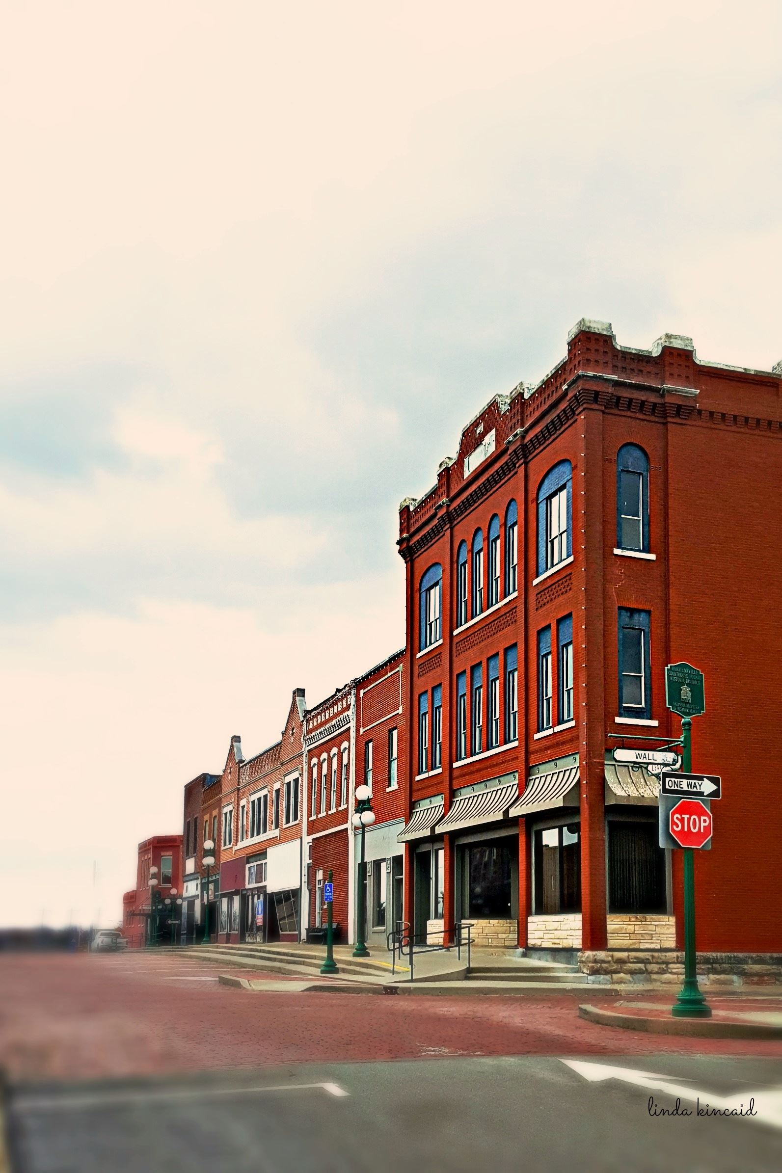 Historic Harrisonville Square east